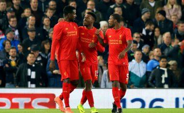 Liverpooli drejt kualifikimit të mëtutjeshëm (Video)