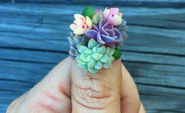 Trendi i ri estetik është 'rritja e bimëve' në thonjtë tuaj (Foto)