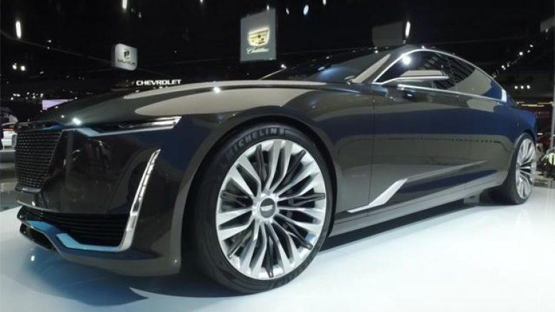 Cadillac prezanton konceptin e mahnitshëm të modelit Escala (Video)