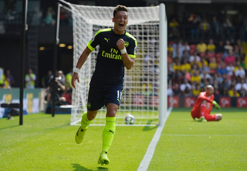 7. Mesut Ozil - Arsenal (7.38)