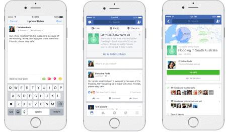 Aktivizimi nuk varet nga punëtorët e Facebookut, por nga njerëzit e përfshirë në ndonjë katastrofë natyrore apo sulme me armë.
