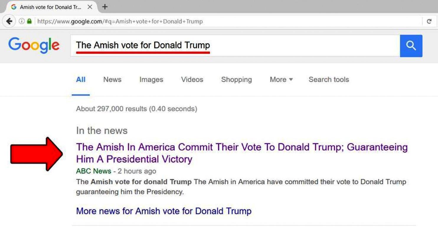 Lajmet e pavërteta shpërndahen edhe me anë të Google