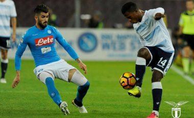 Dy gola të bukur për dy minuta në ndeshjen Napoli-Lazio (Video)