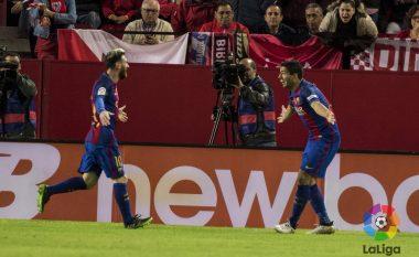 Barcelona fiton derbin me Sevillan, i qëndron si hije Realit (Video)