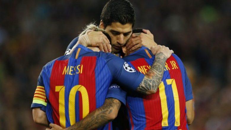 Numri i golave të shënuar nga MSN së bashku tejkalon çdo parashikim