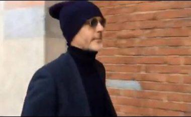 Pioli arrin në zyrat e Interit duke u fshehur, por zbulohet nga mediat - gati nënshkrimi i kontratës (Video)