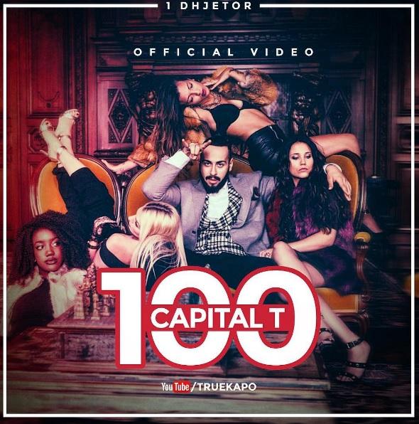 """Capital T në një nga skenat e klipit """"100"""". Foto nga Instagram."""