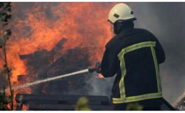Përfshihet nga flakët një restorant në Shkup, nuk ka të lënduar (Video)