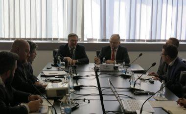 Zëvendëskryeministri Kelmendi takoi përfaqësuesit e Misionit të USAID-it