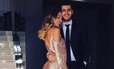 Shikoni momentin kur Alvaro Morata i propozon martesë të dashurës (Foto/Video)
