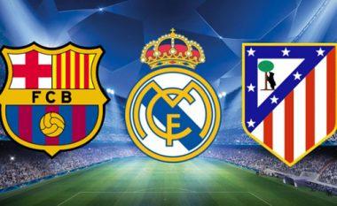 Kundërshtarët e mundshëm të Realit, Barçës, Sevillas dhe Atleticos në LK