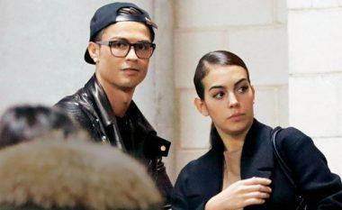 Ronaldo dhe Georgina të pandashëm, së bashku edhe në Bernabeut (Foto)