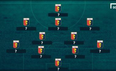 Kështu do të dukej Genoa nëse nuk do të shiste lojtarët më të mirë në vitet e fundit (Foto)