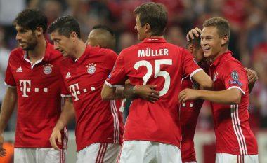 Bayern triumfon dhe kthehet në krye të Bundesligës (Video)