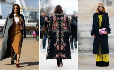 Palltot moderne të cilat do të rrëmbejnë vëmendjen tuaj në rrugë