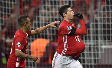 Formacionet e mundshme: Bayern – Wolfsburg, bavarezët pa ndryshime