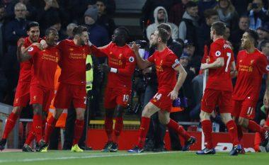 Liverpool fiton derbin ndaj Cityt, i qëndron hije Chelseat lider (Video)