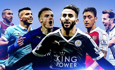 Këta janë tre futbollistët e vetëm që krijuan më shumë se 100 raste në vitin 2016 në Ligën Premier (Foto)