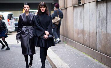 Mënyra e re që këtë dimër të vishni rroba tërësisht të zeza