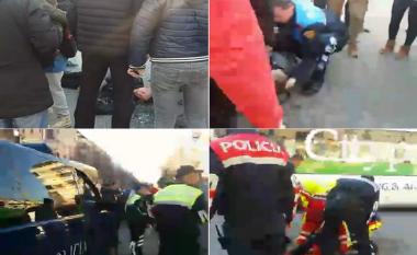 Aksident në Tiranë, makina përplas një fëmijë (Video)