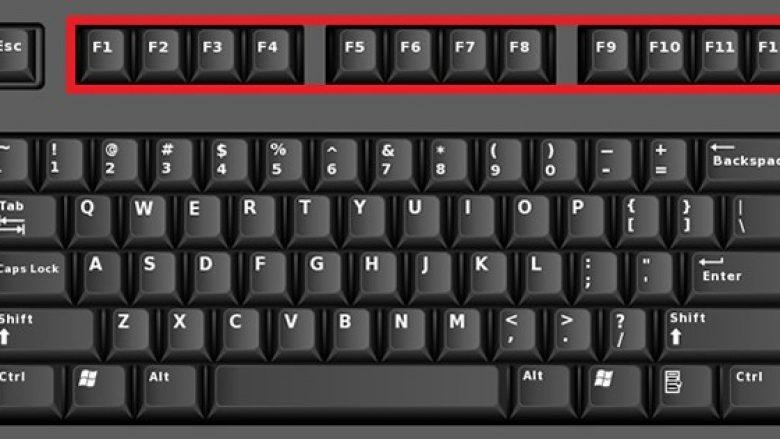 """Nga """"F1"""" deri te """"F12"""", ja për çfarë shërbejnë këta butona 'misterioz' në tastierë"""