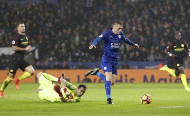 Leicester 4-2 Man City: Vlerësimi i futbollistëve, notë maksimale për Vardyn (Foto)