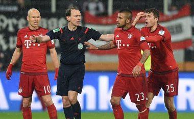 Robben tregon të zezat e Vidalit