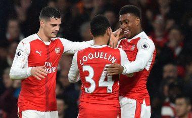 Arsenal 3-1 Stoke City: Xhaka me notë pozitive, por jo edhe Shaqiri e Mustafi (Foto)