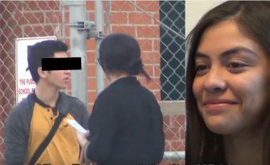 """Realizon kamerë të fshehur për t'u bindur se i dashuri nuk e tradhton, shikoni reagimin e tij karshi """"profesoreshës"""" së bukur (Video)"""