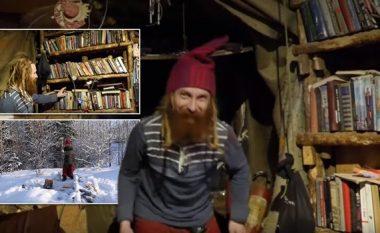 Braktisi luksin për të jetuar si eremit – nën dhe! (Foto/Video)