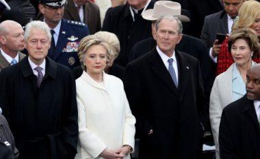 Hillary në Twitter: Kam ardhur në inaugurim vetëm për të nderuar demokracinë