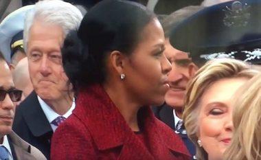 """Bill ia """"ngul"""" sytë Ivanka Trumpit, Hillary """"vret"""" me shikim! (Foto/Video)"""