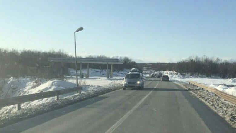 Rrugët në tërë vendin janë të kalueshme
