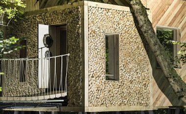 Shtëpitë më luksoze të ndërtuara në pemë, me sauna brenda (Foto)