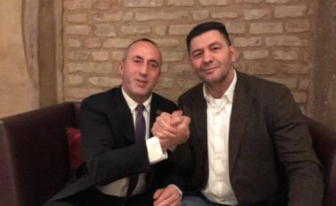 Luan Krasniqi viziton Haradinajn në Francë (Foto)