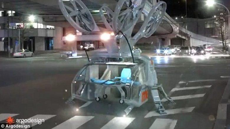Dron-ambulancë: Shpikja e re që mund t'ia shpëtojë jetën miliona njerëzve (Foto/Video)