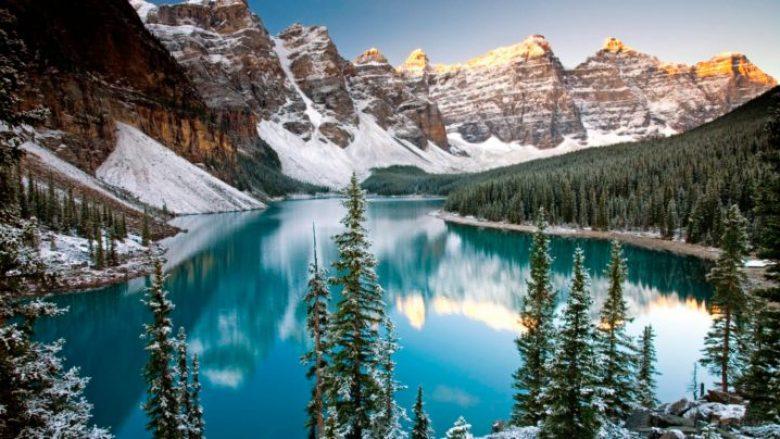 Parku kombëtar i Banff, një nga destinacionet më të kërkuara në botë (Video)