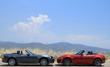 Mazda MX-5 apo Fiat 124 Spider: Cila veturë është më e mirë? (Video)
