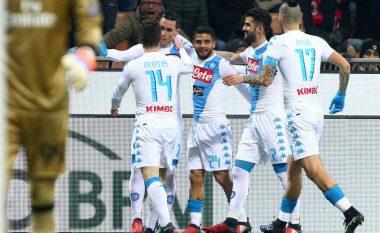 Milan 1-2 Napoli, nota e Hysajt dhe të tjerëve (Foto)