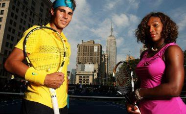 Nadal lehtësisht në rundin e dytë, ashtu edhe Serena Williams