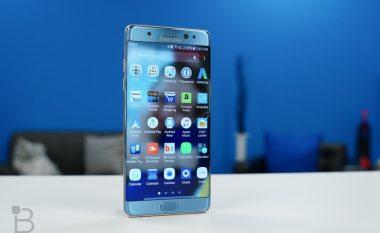 Samsung i merr vesh arsyet e ndezjes në flakë të Note 7