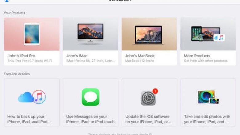 Aplikacioni Apple iPhone Support lansohet edhe në 20 shtete të reja