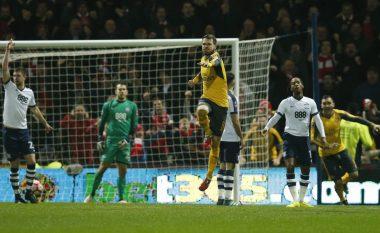 Arsenali fiton ndaj Prestonit, vazhdon tutje në FA Cup (Video)