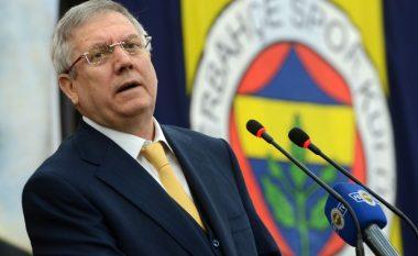 Për herë të parë në histori të Federatës Turke: Dënohet presidenti i Fenerbahçes
