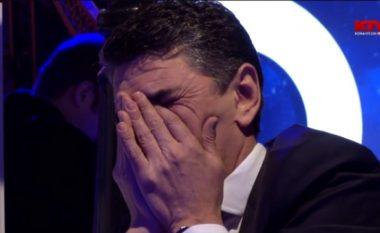 Besim Dina shpërthen në lot gjatë emisionit (Video)