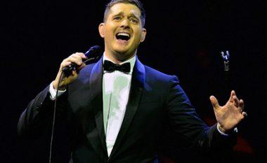 """Michael Buble tërhiqet nga """"Brit Awards"""" (Foto)"""