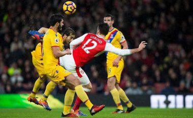 Notat e lojtarëve, Arsenal 2-0 Crystal Palace