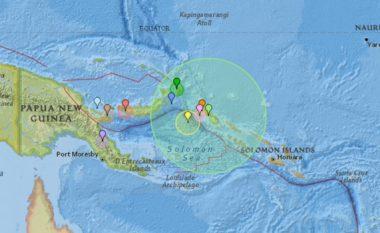 Tërmet i fuqishëm në Guinenë e Re