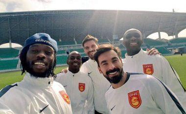 Ylli i Kosovës i shënon gol skuadrës kineze ku aktivizohet Lavezzi