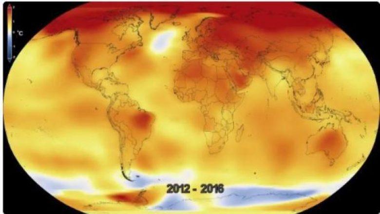 Viti 2016, më i nxehti në histori